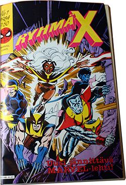 Cover of Ryhmä-X 1/1984