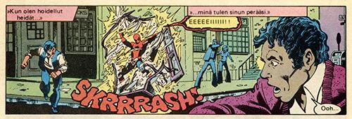 Ryhmä-X 1/1985 Temper, temper!