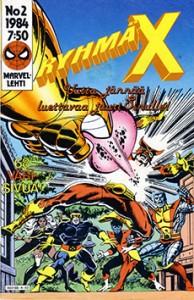 Ryhmä-X 2/1984 Cover