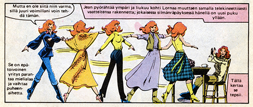 Ryhmä-X 2/1985 Women and clothes