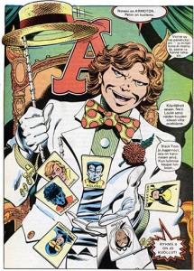 The last image or Ryhmä-X 3/1984: Arcade