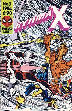 Ryhmä-X 3/1984 Cover