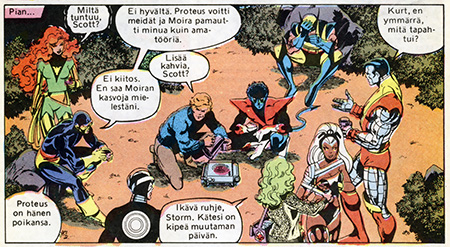 Murderer on the loose, X-Men having a coffee break.