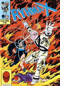 Ryhmä-X 6/1986 Cover