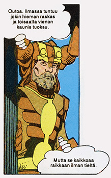 Heimdall from the comics