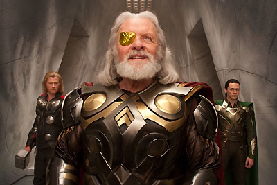 Odin (Anthony Hopkins) from Thor (2011)