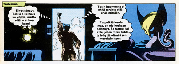 Ryhmä-X 8/1985 Wolverine is naked