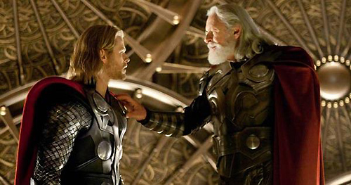 Thor, Odin, and some amazing costumes and sets