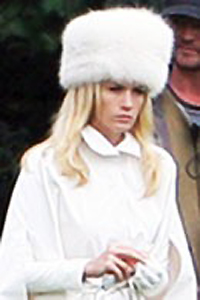 Emma Frost (January Jones) looking quite unhappy knowing where she'll be heading next. From X-Men: First Class (2011)