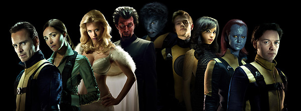 Cast from X-Men: First Class (2011)