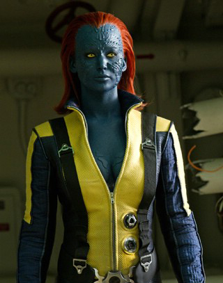 Mystique (Jennifer Lawrence) from X-Men: First Class (2011)