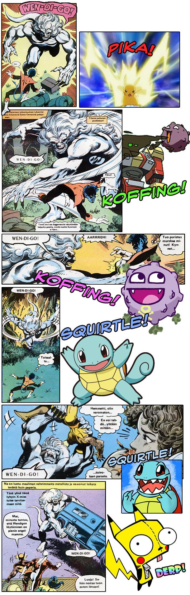 Wendigo is a Pokemon