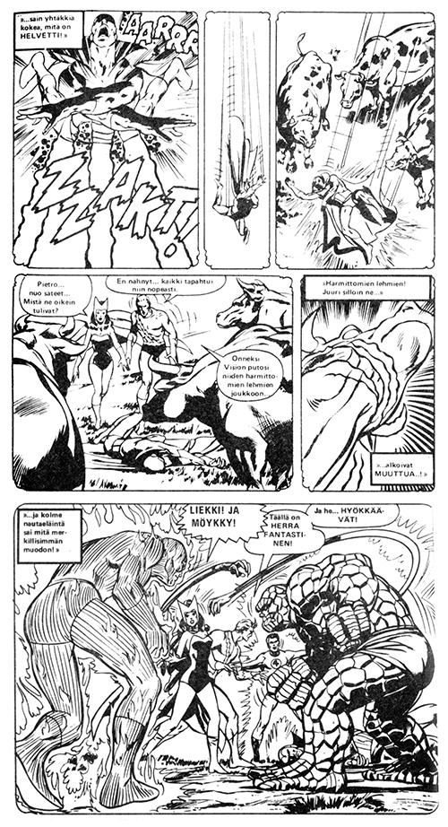 Sarjakirja 105: Cows attack!