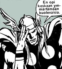Sarjakirja 105: Thor doesn't understand
