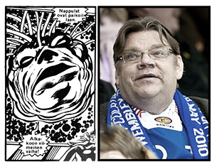 Sarjakirja 105: Supreme Intelligence and Timo Soini