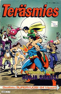 Teräsmies 11/1983: Cover