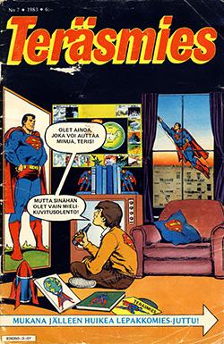 Teräsmies 7/1983: Cover