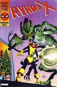 Ryhmä-X 11/1985 Cover