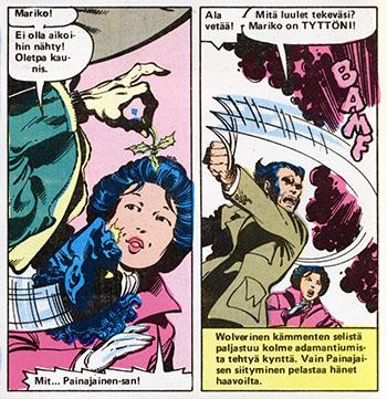 Ryhmä-X 11/1985 Mistletoe insident