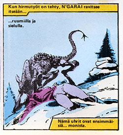 Ryhmä-X 11/1985 N'garai