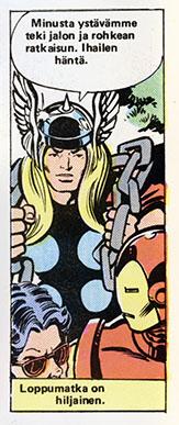 Ryhmä-X 11/1985 Thor's hair