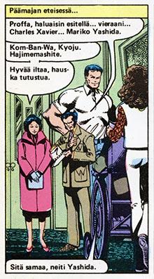 Ryhmä-X 11/1985 Wolverine's clothes