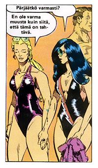 Ryhmä-X 12/1985 Bikini babes