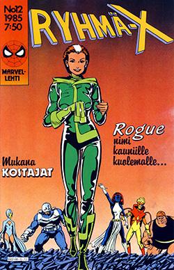 Ryhmä-X 12/1985 Cover