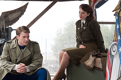 Captain America (2011): Captain and Peggy