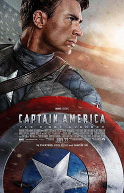 Captain America (2011): Poster