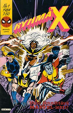 Ryhmä-X 1/1984: Cover
