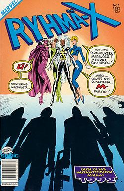 Ryhmä-X 1/92 Cover